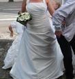 robe de mariée et jupon - Occasion du Mariage