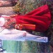 Très belle robe Framboise et Or - Mayenne