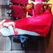 Très belle robe Framboise et Or - Occasion du Mariage