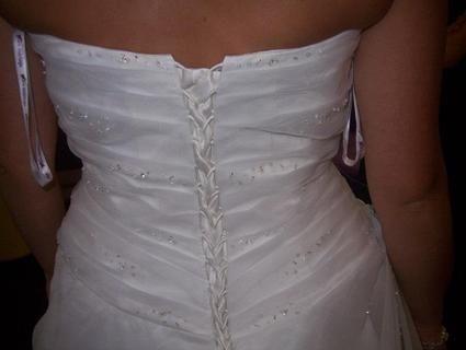 Robe de mariée + accessoires pas cher en 2012 - Occasion du Mariage