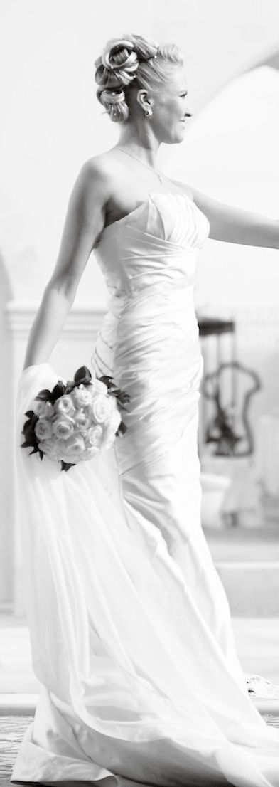 Robe de mariage fourreau moda Sposa couleur ivoire claire