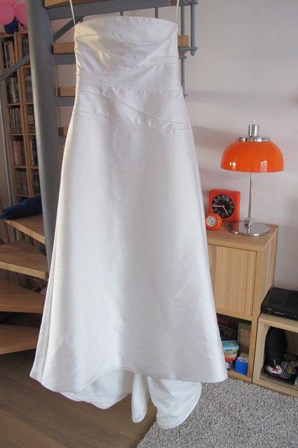 Robe de mariée Pronuptia couleur ivoire et pas cher en 2013