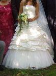 Robe de mariée avec accessoires taille 38-40 - Occasion du Mariage
