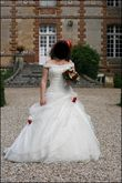 Robe bustier dentelle - Occasion du Mariage