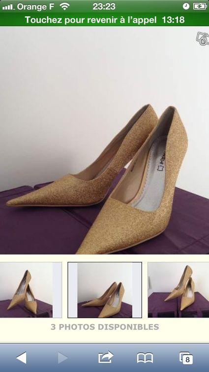 Chaussures de mariage neuve taille 40