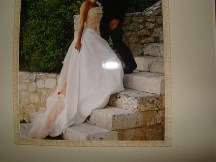 Robe de mariée Elsa Gary en soie d'occasion