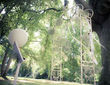 Arche en fer forgé blanche - Occasion du Mariage