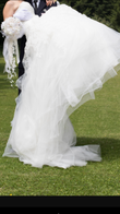 Robe de mariée PRONUPTIA princesse dentelle et accessoires  - Hauts de Seine