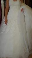 Robe de mariée PRONUPTIA princesse dentelle et accessoires  - Occasion du Mariage