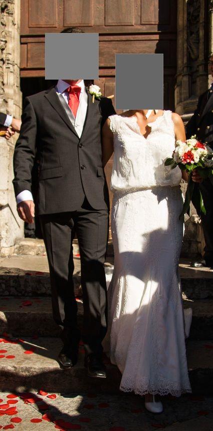 Robe de mariée Cymbeline taille 40 - Rhône