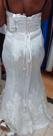 Robe de mariée sirène / bustier T 42/44 - Occasion du Mariage
