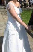 Jolie robe blanche  - Occasion du Mariage