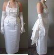 Robe de mariée satin et soie - Occasion du Mariage