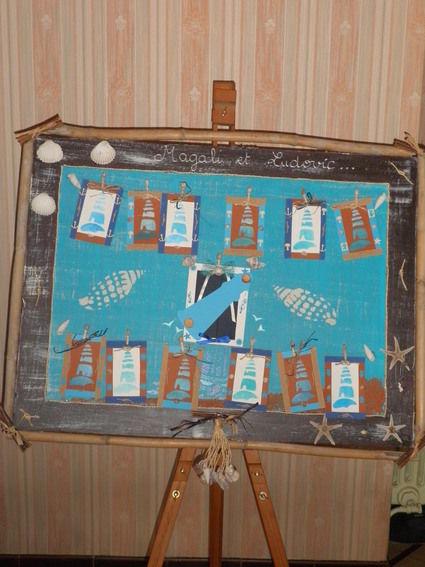 Plans de table mariage thème marin pas cher 2012 - Occasion du mariage