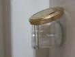 Petits pots couvercles dorés - Occasion du Mariage