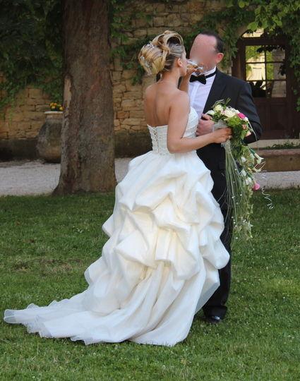 Robe de Mariée princesse Miss France moderne et élégante - Occasion du Mariage