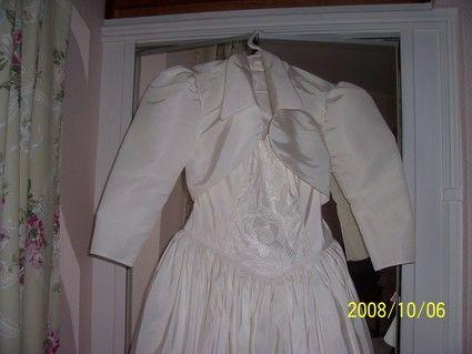 Robe de mariée Pronuptia pas cher + jupon, voiles et cousin alliances - Occasion du mariage