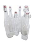 Bouteilles de limonade vintage table mariage - Occasion du Mariage