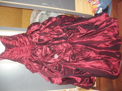 Robe de Mariée Bordeaux et ivoire neuve collection Emylee type Monza