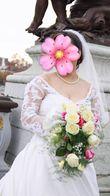Robe de mariée avec traîne - Occasion du Mariage