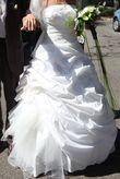 Robe mariée pronuptia T.40 + Etole + Jupon et cerceaux - Occasion du Mariage