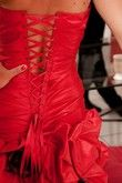 robe de mariée rouge - Occasion du Mariage