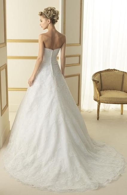 Robe de mariée Tesoro - Luna Novias 2013 d'occasion