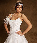 Robe de mariée haute couture Rosi Strella d'occasion à Lyon