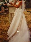 robe de mariée,  avec bustier - Occasion du Mariage