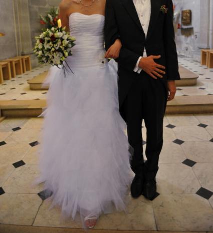 Robe Hervé Mariage modèle Intrépide d'occasion à Paris