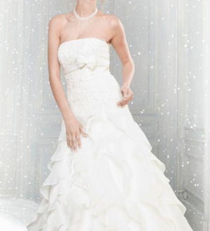 Robe de Mariée Pronuptia Modèle Brillante féerie  Collection 2012