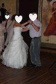 Magnifique robe de mariée San Patrick d'occasion en gaze Sofia