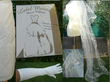 Jupe de mariée d'occasion en organza ivoire avec traine - Occasion du mariage