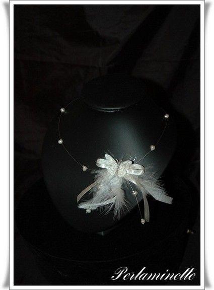 Bijoux de mariage pas cher / Collier mariage mariée créateur 2012 - Occasion du mariage