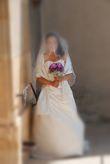 Élégante robe de mariée satin - Occasion du Mariage