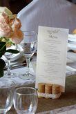 Chemin table toile de jute + dentelle - Occasion du Mariage