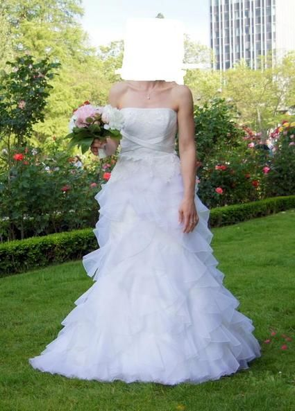Robe de mariée Cymbeline Dédicace d'occasion couleur ivoire