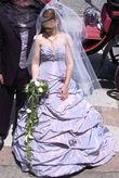 Robe de mariée lilas T40 - Occasion du Mariage