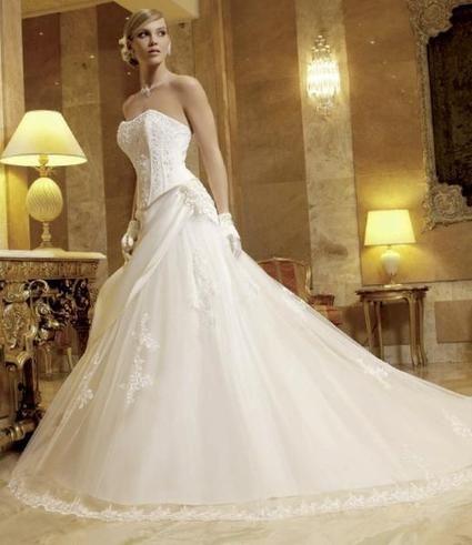 robe de mariée ivoire - Réunion
