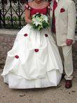 Robe de mariée avec corset bordeaux - Occasion du Mariage