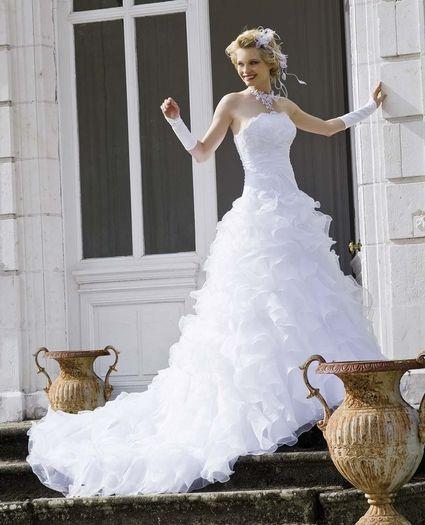 Robe de mariee nuptial doccasion avec accessoires
