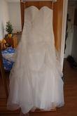 Robe bustier coeur tissu original - Occasion du Mariage