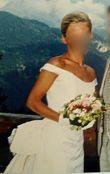 robe de mariée soie sauvage créateur pièce unique - Occasion du Mariage