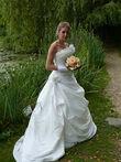 robe de mariée avec jupon - Occasion du Mariage