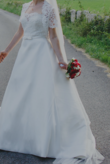 Robe de mariée bustier Rosa Clara avec boléro - 38 - Occasion du Mariage