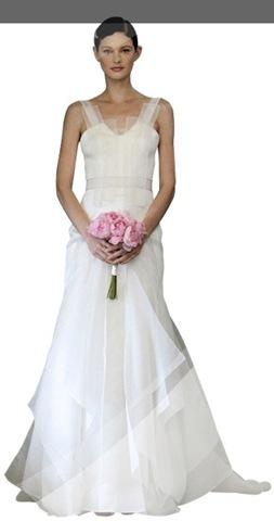 Robe de mariée Carolina Herrera collection printemps 2013