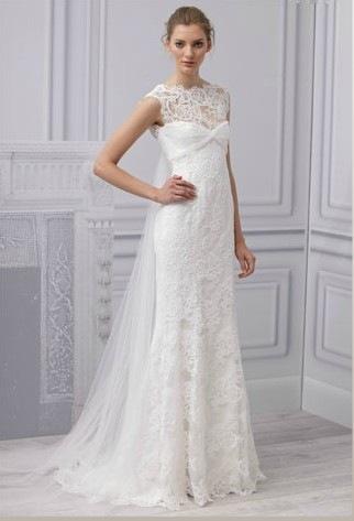 robe de mari e monique lhuillier collection printemps 2013